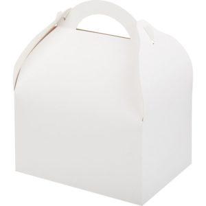 Konténer torta és desszertek számára, fehér 170х130х100 mm (90 db/csomag)