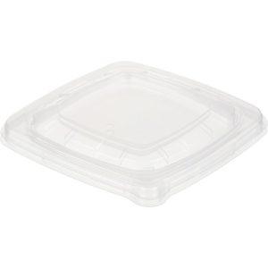 Fedél PET Sabert 150x150x20 mm, átlátszó (75 db/csomag)