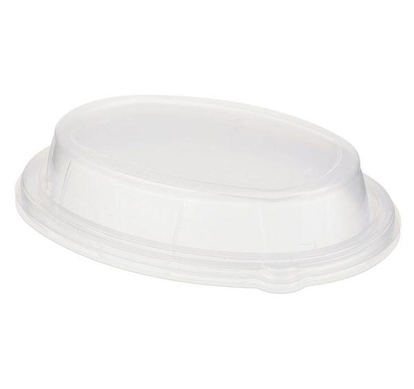 Fedél PP Sabert 170x230x40 mm, ovális, átlátszó (50 db/csomag)