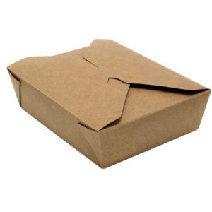 Papírdoboz Tambien Eco 800ml 132x104x64mm, kétoldalú kraft (50 db/csomag)