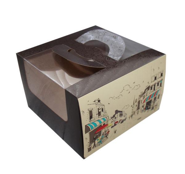 Sütemények és édességek csomagolása Randevú 250х250х160 mm (5 db/csomag)