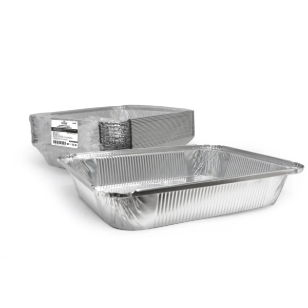 Téglalap alakú alumínium forma Complement 322x255x51mm, 3180ml (25 db/csomag)