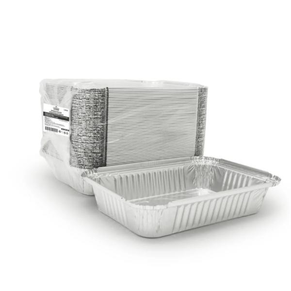 Alumínium fedél sütőformához 218x156mm (50 db/csomag)