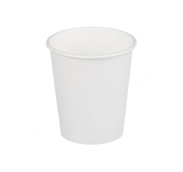 Papírpohár 2 rétegű, fehér, 250 (25 db/csomag)