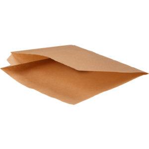 Hamburger tasak kraft papír S (2000 db/csomag)
