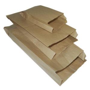 Papirzacsko 140 x 60 x 370 mm kraft (2000 db/csomag)