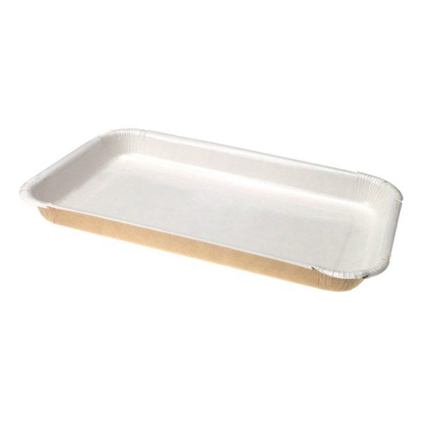 Papirtalca ECO PLATTER 400 ml 220x140x20 mm (300 db/csomag)