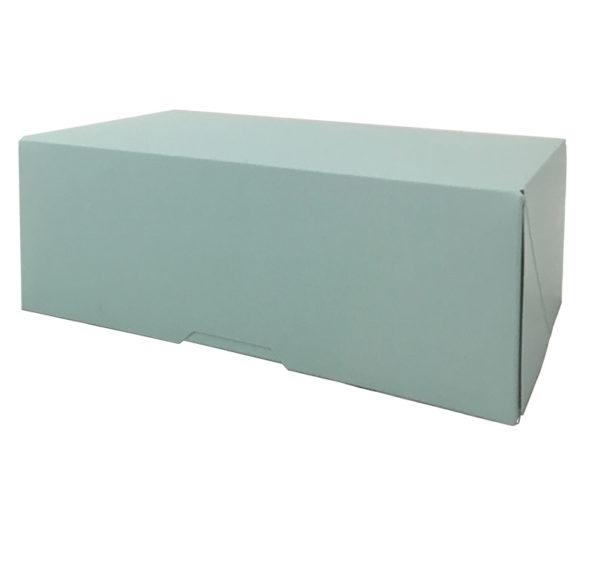 Papírdoboz 200x110x70mm, kek (150 db/csomag)