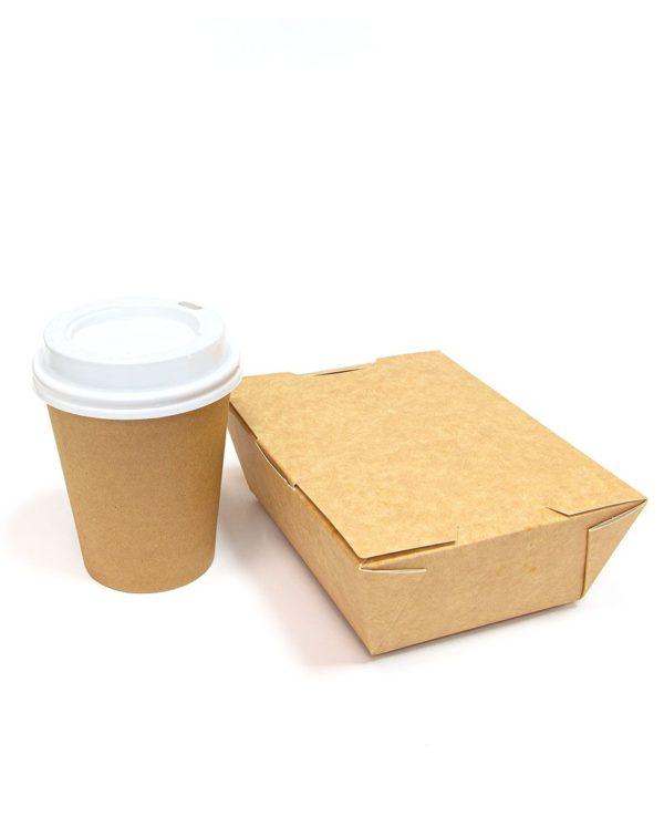 Papír konténer Lunch1Go (90 db/csomag)