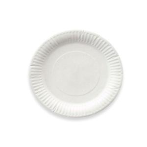 Kerek fehér tálca d=170 mm karton (100 db/csomag)
