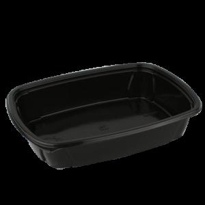PP Doboz 1000 ml fekete (50 db/csomag)