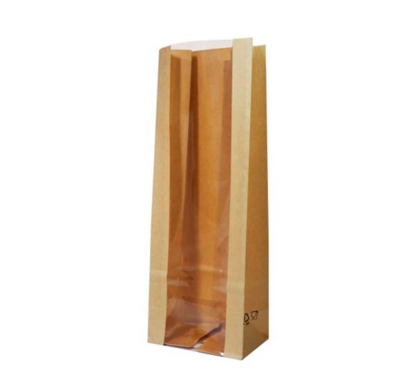 Papírzacskó kraft téglalap alakú alj 120 (600 db/csomag)