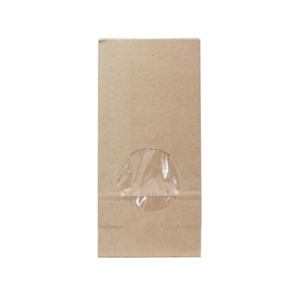 Papírzacskó kraft téglalap alakú alj 80х50х170 mm kraft (600 db/csomag)