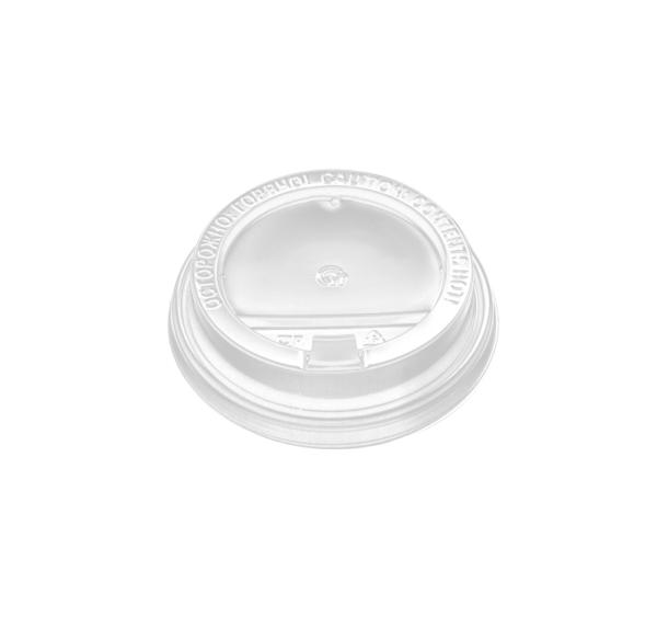 PP fedél szeleppel, fehér d=90 mm (100 db/csomag)
