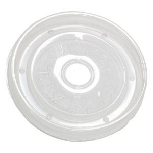 Élelmiszer tároló PP doboz fedél  d=90 mm  Tambien Eco (25 db/csomag)