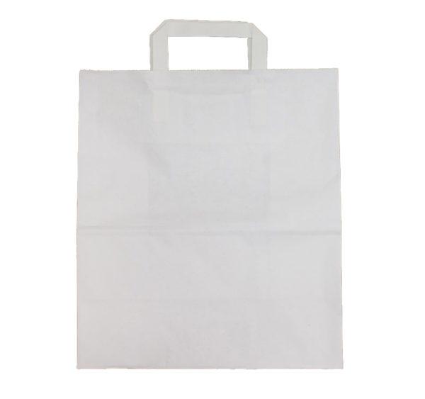 Papírzacskó 280x150x320 mm egyenes fogantyuval (250 db/csomag)