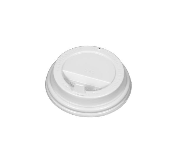 PS fedél szeleppel, fehér d=80 mm (100 db/csomag)