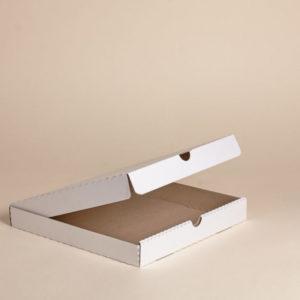 Pizzás doboz 330x330x40 mm hullámkarton (50 db/csomag)