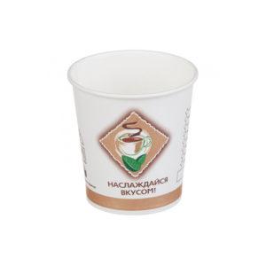 Papírpohár 1 rétegű 100 ml d=62 mm Kávé / tea (25 db/csomag)