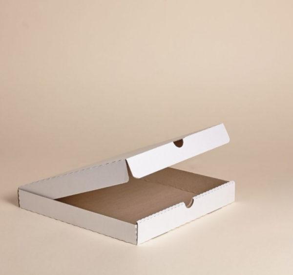 Pizzás doboz 400x400x40 mm hullámkarton (50 db/csomag)